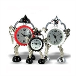 Hoter Robot Alarm Clock, Lovely And Creative, With Business Card Holder, Large Size, Price/Piece