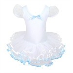Hoter® Pure White Princess Multi-layered Ballet Tutu Dress (Size 5-10), Price/Piece