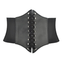 HOTER Lace-up Corset Style Elastic Cinch Belt
