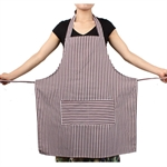Kitchen Stripe Apron, For Man/Women, With Pocket, Two Color