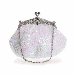 HOTER® Stylish Tassel Bead-hand-knit Prom & Party Evening Handbag, Clutch Bag, Gift Ideas
