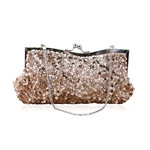 HOTER® Vogue Simple Party Clutch Bag, Prom Evening Handbag With Bowknot, Gift Ideas