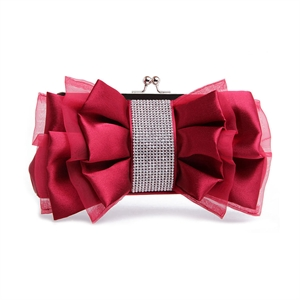HOTER® Women & Girls Elegance Prom & Party Evening Handbag With Crystal, Clutch Bag, Gift Ideas