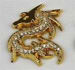 Dragon 3D Chrome Car Auto Badge Emblem