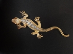 Gecko 3D Chrome Car Auto Badge Emblem