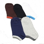 Men's Cotton Low-Cut Socks, Price/Pair, Size 7-10