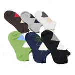 Men's Low-Cut New Designed Cotton Socks, Price/Pair, Size 7-10