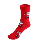 HOTER® Men's Snowman Pattern Christmas Socks, Gift Idea!