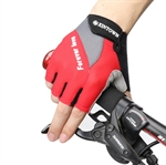 HOTER Half Finger Bike Gloves[Anti-slip][waterproof][Breathable]cycling gloves (Pack of 1 Pair)