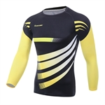 HOTER Winter Slimming Body Shaper Shirt Cool Dry Thermal Fleece Baselayer for Daily Workout