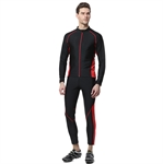HOTER Men's Winter Thermal Fleece Jersey Set Waterproof for Cycling Hiking M-3XL