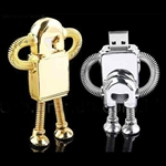 Hoter USB Flash Drive, 4GB Hi-speed Future Robot, Price/Piece
