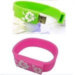 Hoter 16GB Hi-speed Bracelet USB Flash Drive, Wristband USB, Price/Piece