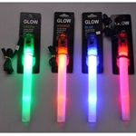 Hoter LED Glow Stick, Multi-Use As Flashlight/ Signal Stick/ Survival Whistle