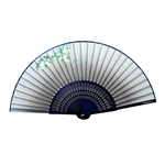 HOTER® Japanese Silk Handheld Folding Fan,Plum Blossom In Different Background