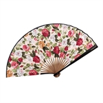 HOTER® Japanese Silk Handheld Folding Fan,Various Kinds Of Flower