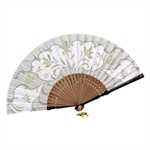 HOTER® Japanese Silk Handheld Folding Fan,Elegance