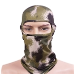 Camouflage Pattern Balaclava-Windproof&Dustproof,Multicolors Ultra Skin Tactical Hood,Face Mask,Suitable for Ski,Football,Bike,Motorcycle,Unisex Design Neck Protection,Two Styles:Single Port/Double Port,1pc/set