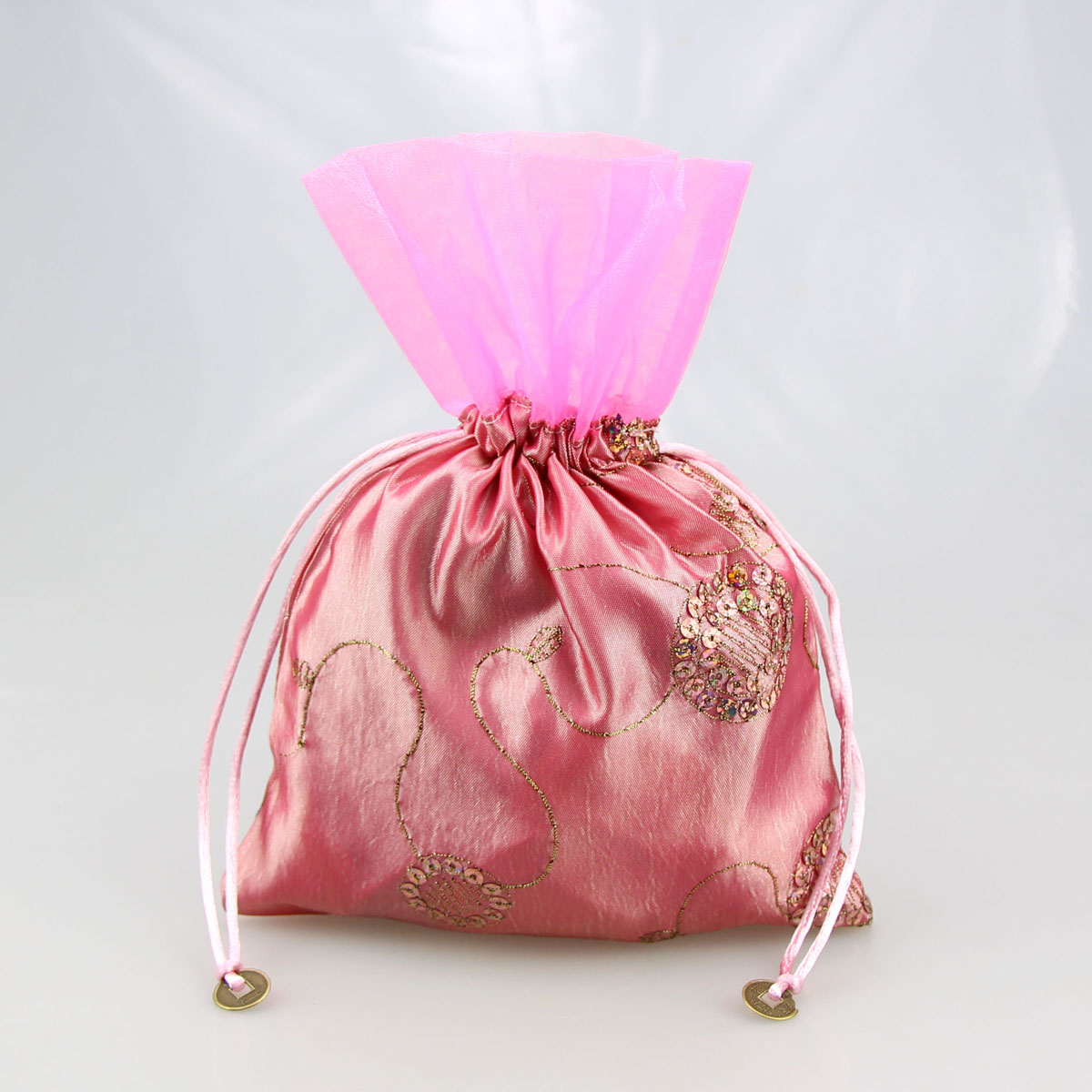 HOTER Organza and Trilobal Nylon with Drawstring, Jewelry Bags ...