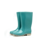 HOTER Latest Fashionable Glitter High Cylinder Rain Shoes Skidproof/Waterproof Rainy Day/Garden Work/Outdoor Activities