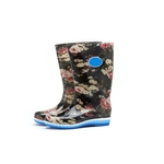 HOTER Latest Fashionable Stylish Glitter Lady High Cylinder Rain Boots Skidproof/Waterproof Rainy Day/Garden Work/Outdoor Activities