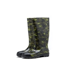 HOTER Latest Fashionable Stylish Glitter Men Camouflage Long Cylinder Rain Shoes Skidproof/Waterproof Rainy Day/Garden Work/Outdoor Activities