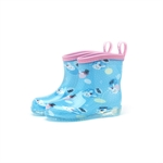HOTER Latest Fashionable Lovely Girls and Boys Glitter Rain Shoes Skidproof/Waterproof Rainy Day/Garden Work/Outdoor Activities