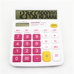 HOTER 12 Digits Fashionable Cute Desktop Dual Power Solar Calculator, AA Battery, Daily Office Business, Gift, 3 Colors
