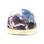 HÖTER Unisex 3D Printed Adjustable Gorgeous Cool Snapback Flatbrim Hats Landscape Hip Hop Baseball Cap