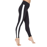 Stitching Color Tight Yoga Pants Slim Sports Fitness Leggings