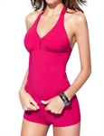 H:oter® Simple Sexy Deep V Neck Strap Two Piece Swimsuits
