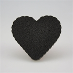 Activated Carbon Face Sponge, Makeup Sponge, Heart-Shaped, Price/Piece