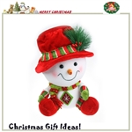 HOTER®12 inch Handmade Christmas Snowman decorative Toys, Gift Idea