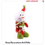 HOTER® 14 inch Handmade Christmas Snowman decorative Toys Spring, Gift Idea