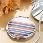 HOLI® Colorful Rainbow Round Mirror Cosmetic Mirror Compact Mirror, Gift Idea, Gift Box Included