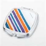 HOLI® Colorful Rainbow Square Mirror Cosmetic Mirror Compact Mirror, Gift Idea, Gift Box Included