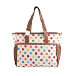 VENI MASEE® Vogue Dots Multifunctional Waterproof Mummy Bag Baby Diaper Nappy Changing Bag