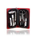 Cato Classical 8 Pcs Nail Care Personal Manicure & Pedicure Set, Travel & Grooming Kit