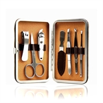 Cato Classical 7 Pcs Nail Care Personal Manicure & Pedicure Set, Travel & Grooming Kit