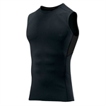 HOTER® Men's Sports PRO Ultimate Tight Sleeveless Crew, Black