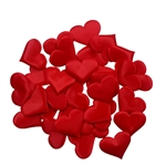 HOTER® Romantic Silk Heart-Shape Wedding Decorations Confetti gift filler choice 100Pieces