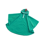 Rain Coat Cartoon Dinosaur Hooded Waterproof Raincoat for Kids Children