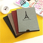 HOTER Sweet Girl Style Tour Eiffel DIY Vintage Free Stick & Folded Pages Photo Album