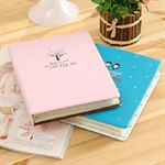 HOTER Sweet Girl Style Stylish & Simplism For Lovers Leathe Cover Slip-in Photo Album