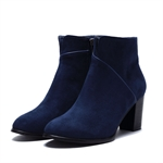 Veni Masee® New Style Vogue Ladies Winter Suede High-heeled Ankle Boots