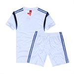 H:oter® Adult Training Short&Shirt Set, Sweat Control Team Match Practice Suit For Soccer, Football And Other Teamsports