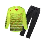 H:oter® Mens Sports Football Set Guard Goal Keepers Long Sleeve&Pant