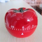 Hoter® 60-Minutes Cute Tomato Kitchen Timer, Mechanical Timer, Price/Piece, FOUR FOR ONE FREE