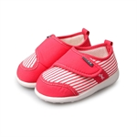 H:oter Newborn Baby Toddler First Walking Shoes, Squeaky Prewalker Shoes