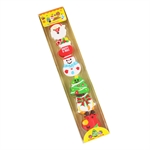 Hoter® Lovely Christmas Little Erasers, Christmas Gifts, Random Color